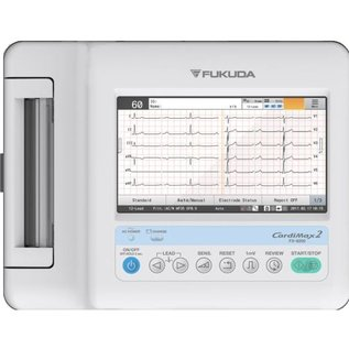 Fukuda Denshi Cardimax FX-8200 - Cardiograaf multi-kanalen, zonder interpretatie (110mm)