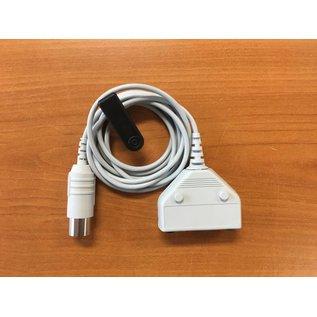 Bionen EMG Patiëntenkabel - 3x jack 1.5mm plug, 1x female 5-pin DIN - kabel 150cm straight conn.