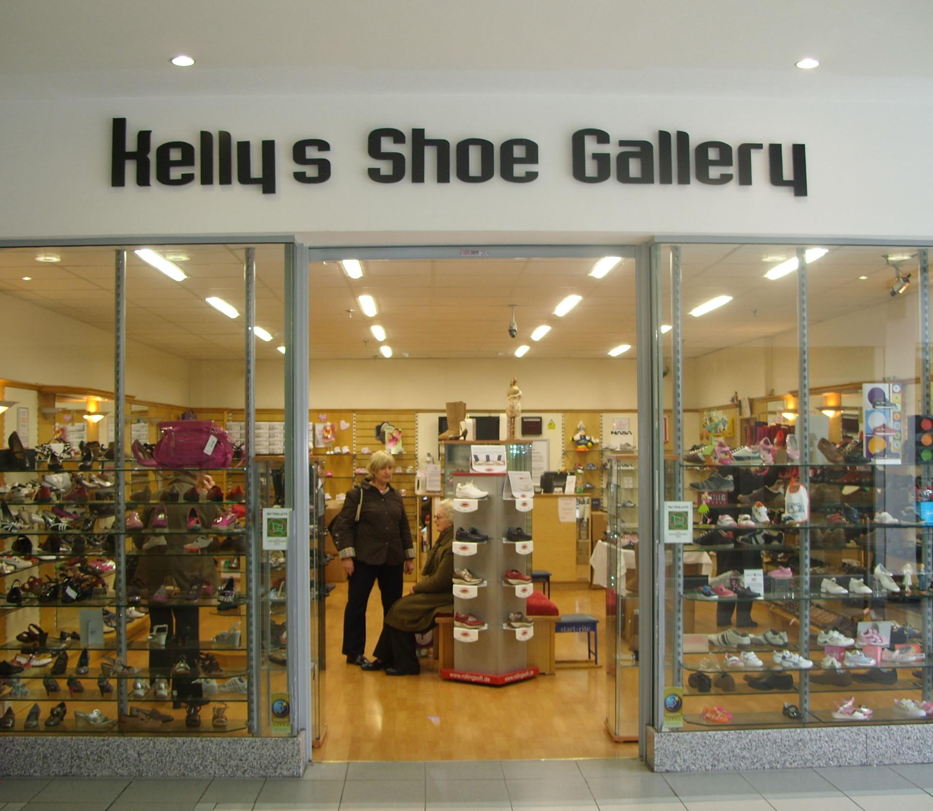 Kelly's previous store in the Crescent Shopping Centre