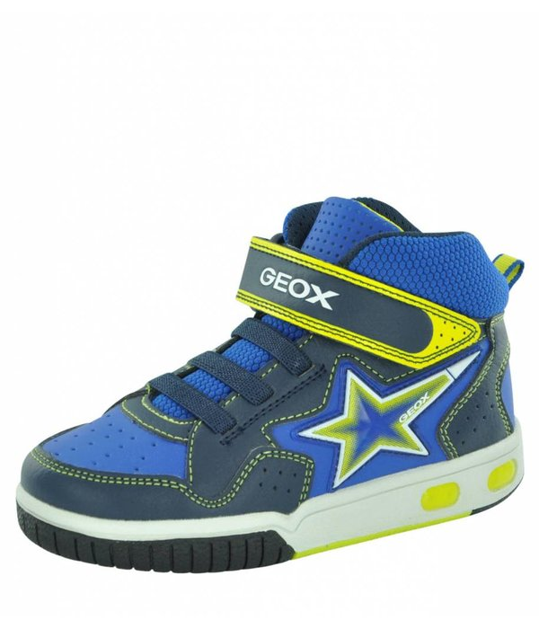 Geox Kids J7447A Gregg Boy's High Tops