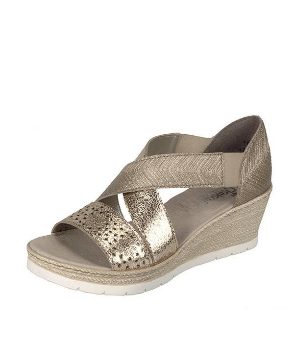 Rieker 61976 Women's Wedge Sandals