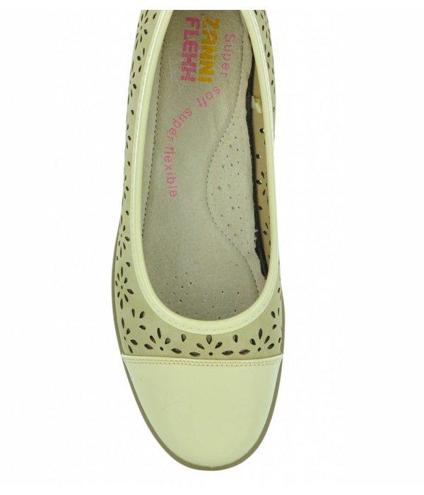 Zanni Flexx Camellia Bitter Women's Wedge Shoe