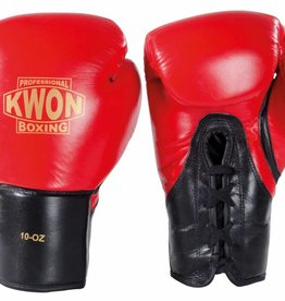 KWON Boxhandschuhe Tournament - Rot-Schwarz