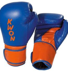 KWON Boxhandschuhe Super Champ, blau-orange
