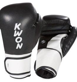 KWON Boxhandschuhe Super Champ, schwarz-weiß