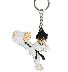 KWON Taekwondo Schlüsselanhänger TKD Kick