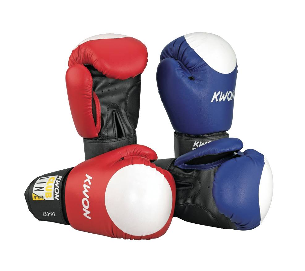 KWON Boxhandschuhe Pointer 10 oz, mehrfarbig