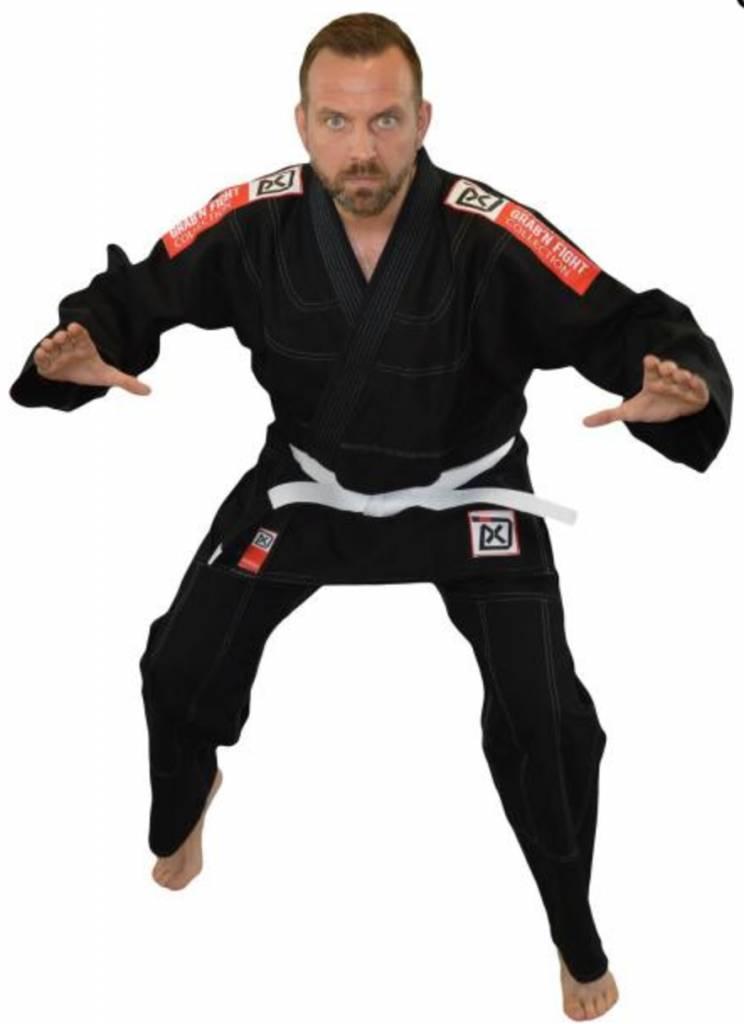 PHOENIX BJJ Gi Kimono Anzug GRAB'N FIGHT schwarz