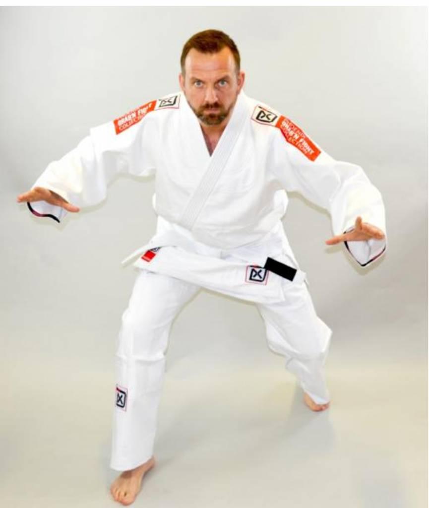 PHOENIX BJJ Anzug Gi Kimono GRAB'N FIGHT weiß