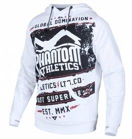 "Phantom Athletics Hoodie ""Walkout"" - Weiß"