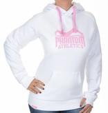 """Phantom Athletics Women Hoodie """"Team"""" - Weiß/Pink"""