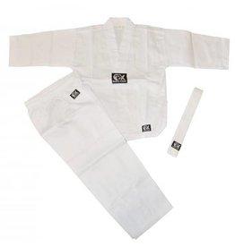 BUDO KIDS Kinder Anzug Gi - Universalanzug für Taekwondo-Karate etc. , weiß
