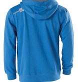 KWON Hoodie mit Reißverschluss und Taschen blau