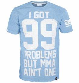 """Phantom Athletics T-Shirt """"99 Problems"""" - Hell Blau"""