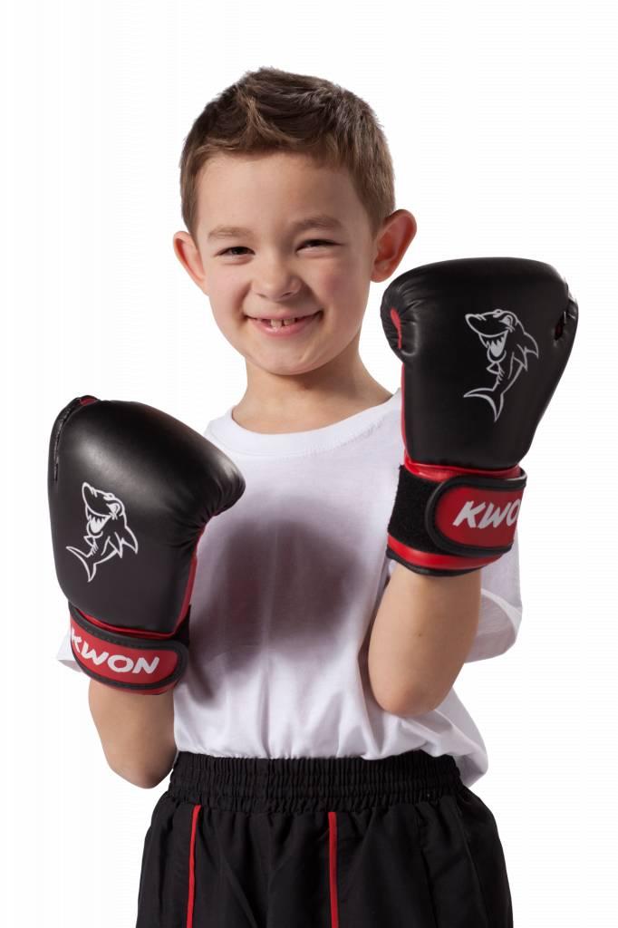 KWON Kinder Boxhandschuhe Mini Shark 4oz