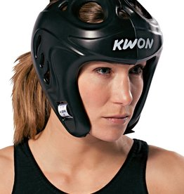 KWON Shocklite Kopfschutz CE in Schwarz