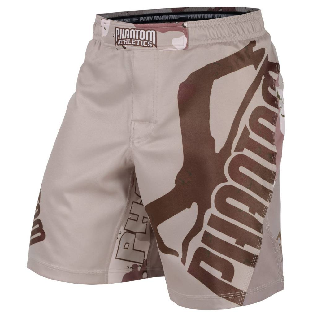"Phantom Athletics Fightshorts MMA Shorts ""STORM Warfare"" - Desert Camouflage"