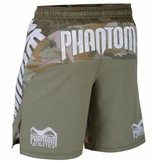 "Phantom Athletics Fightshorts MMA Shorts ""STORM Warfare"" - Woodland Camouflage"