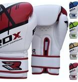 RDX Boxhandschuhe QUADRO-DOME Fitness - Rot