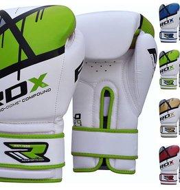 RDX Boxhandschuhe QUADRO-DOME Fitness- Grün