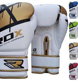 RDX Boxhandschuhe QUADRO-DOME Fitness- Gold