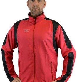 PHOENIX Trainingsjacke rot-schwarz