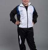 PHOENIX Trainingsanzug Jacke weiß-schwarz