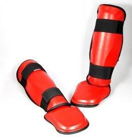 PHOENIX Schienbein- und Spannschutz PU rot
