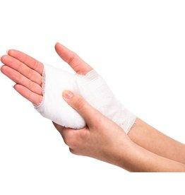 PUNCHSTORE Elastische Mullbinde Bandage 4cm x 4m