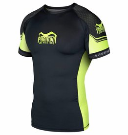 "Phantom Athletics Rashguard ""STORM Nitro"" - Neon - Shortsleeve"