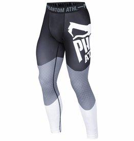 "Phantom Athletics Compression Leggings ""Supporter"" - schwarz grau weiss"