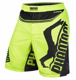"Phantom Athletics MMA Shorts Fightshorts ""STORM Nitro"" - Neon Gelb"