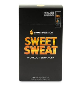 Sweet Sweat Workout Enhancer Wärmecreme - Körper Creme Testpäckchen 15g