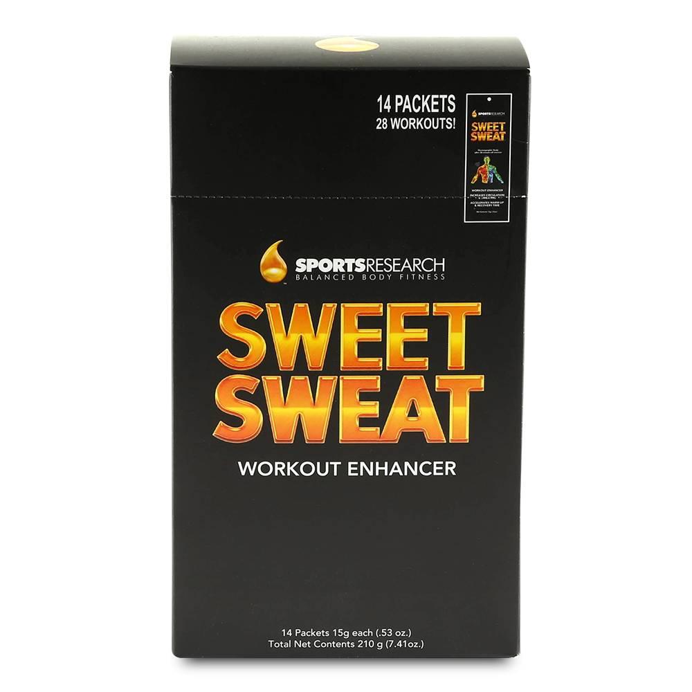Sweet Sweat Workout Enhancer Wärmecreme - Körper Creme Testpäckchen 15g