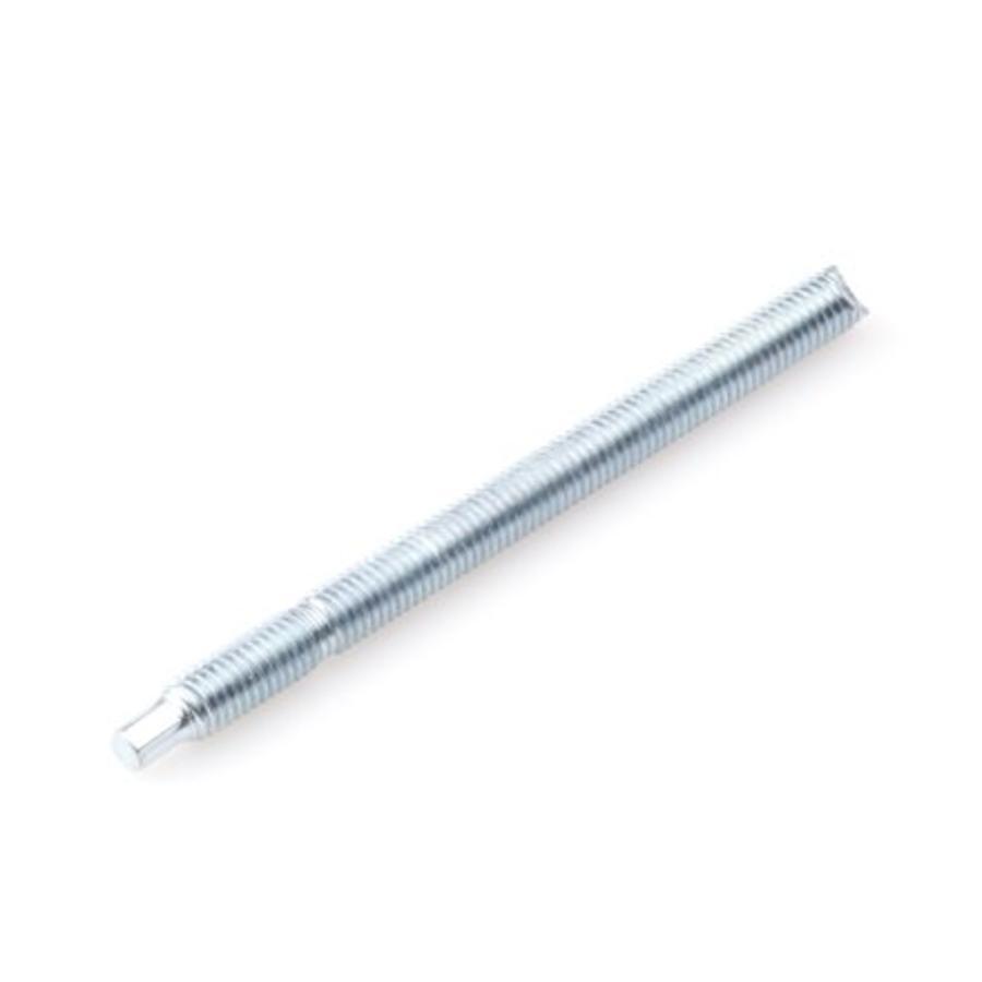 Ankerstang / draadeind verzinkt met dakpunt en moer M12 x 160 mm