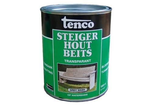 1L Tenco steigerhoutbeits - diverse kleuren