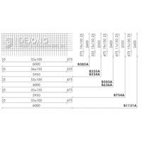 Bouwstaalmat B754a Ø12-150 2.35 x 5.95 meter