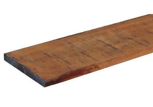 Hardhouten kantplank 2 x 20 x 300 cm - gezaagd