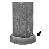 Wegzakpreventie beton schuttingpaal