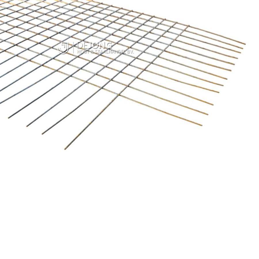 Bouwstaalmat BPS283a Ø6-100 2 x 3 meter