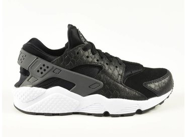 Air Huarache Run PRM Black/Dark Grey-White 704830-001