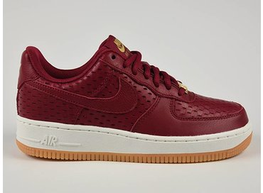 Nike WMNS Air Force 1 '07 PRM Noble Red/Noble Red 616725 600