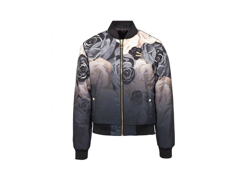 X Careaux Rev. Bomber /Puma Black/Flower AOP 0571690 01