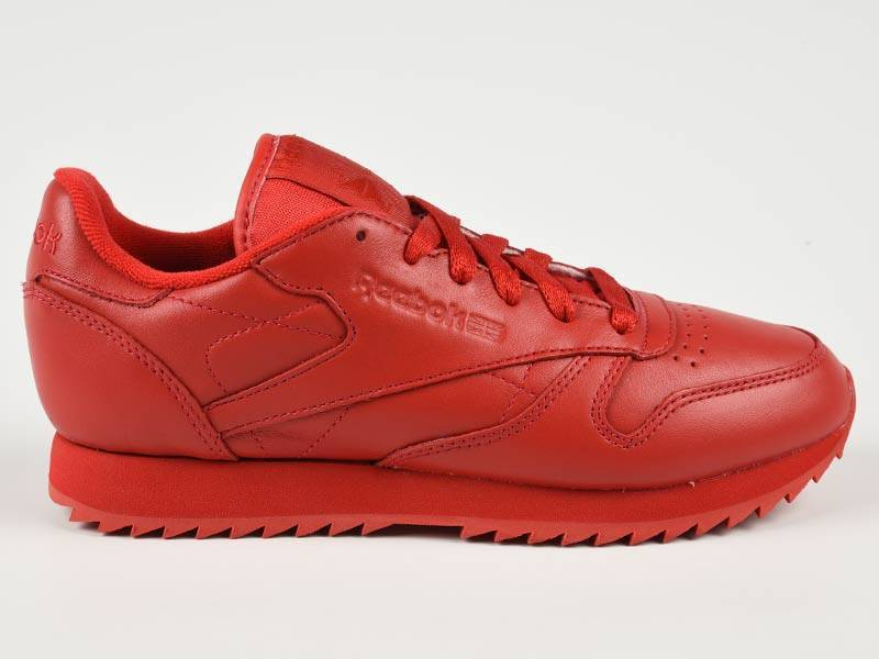 Classic Leather Ripple Mono Scarlet AR2349