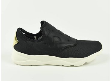 Reebok Furylite Slip On Leo Black/Chalk/Gold AR2716