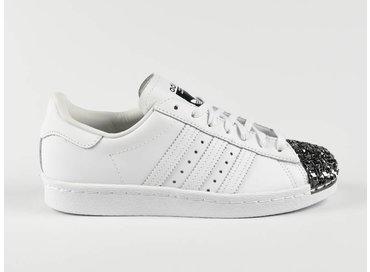 Adidas Superstar 80s Metal Toe TF White/White S76532