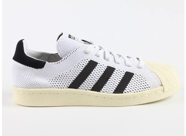 Adidas Superstar 80s Primeknit White/Black S82779