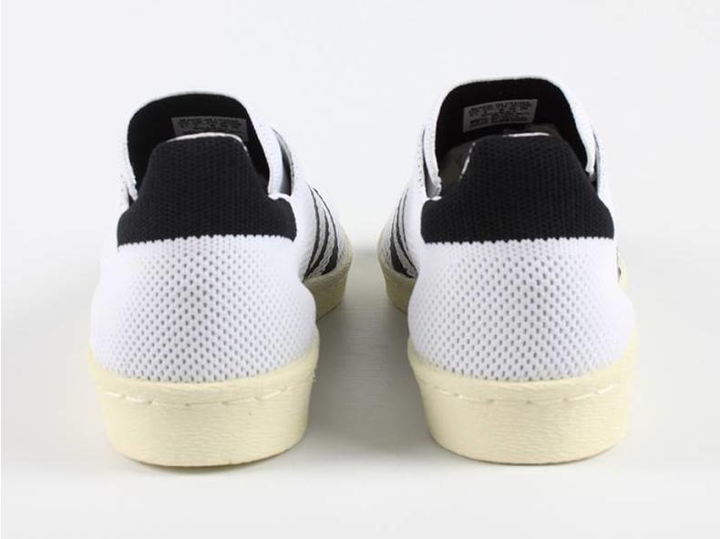 Superstar 80s Primeknit White/Black S82779
