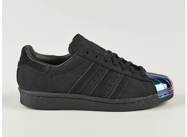 Superstar 80s Metal Toe W CBlack/CBlack/White S76710