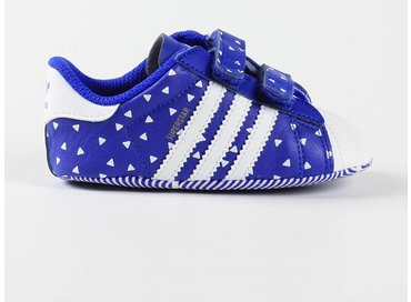 Adidas Superstar Crib Blue/White B25510
